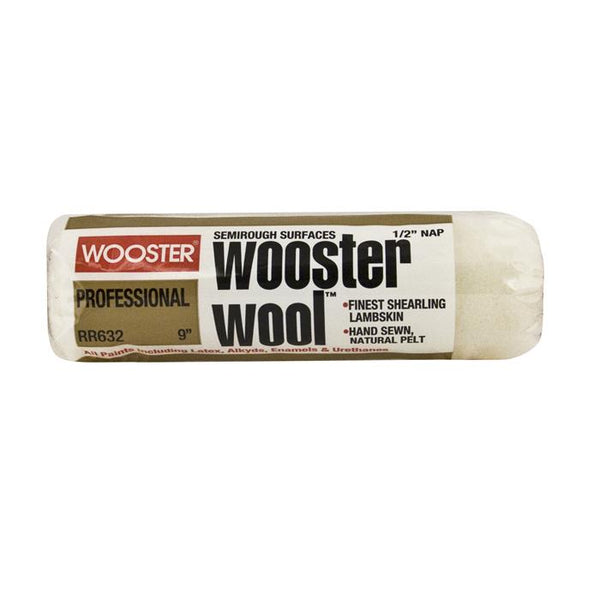 "9"" Wooster Wool Roller Cover"
