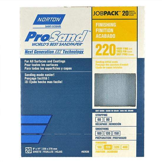 "9""X11"" Sandpaper Job Pack"