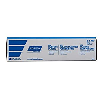 Norton Painters Plastic 9ft X 400ft  .31mil