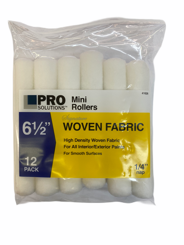 "Pro Solutions 6.5"" Mini Roller Cover 12pk"