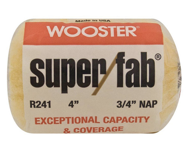 "Wooster 4"" Super/fab Roller Cover"