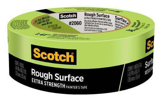 "3M 2060 Scotch Green Masking Tape 1.41""x60yrd"
