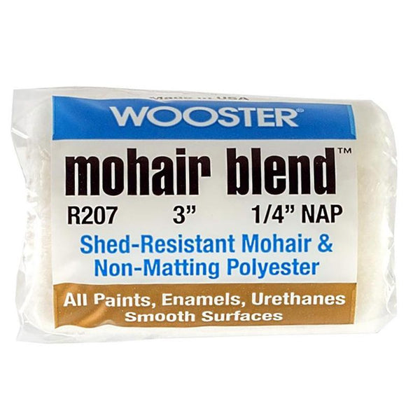 "1/4"" Wooster R207 Mohair Blend Professional Roller Cover"