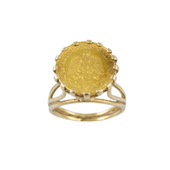 RING YELLOW GOLD 14KT