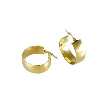 EARRINGS YELLOW GOLD 14KT