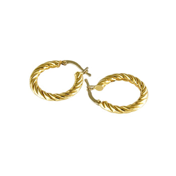 EARRINGS YELLOW GOLD 18KT