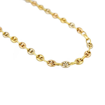 NECKLACE GOLD 18KT TRI-COLORS