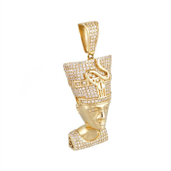 PENDANT CHARM YELLOW GOLD 14KT WITH CUBIC ZIRCONIA