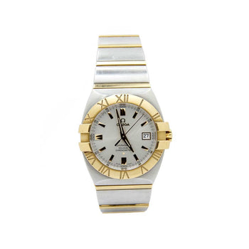 OMEGA CONSTELLATION MENS MODEL DOUBLE EAGLE PERPETUAL CALENDAR