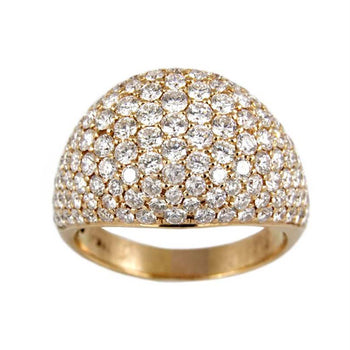 RING ROSE GOLD WITH DIAMONDS KC DESING