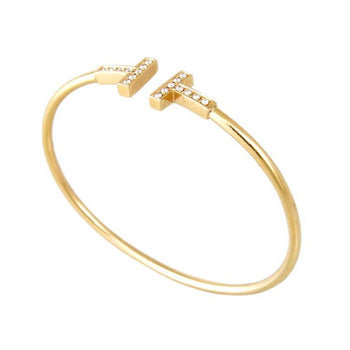 TIFFANY BRACELET YELLOW GOLD 18KT WITH DIAMONDS