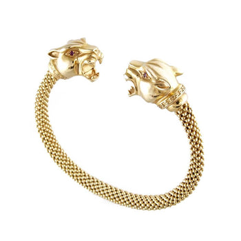 BRACELET YELLOW GOLD 14KT WITH CUBIC ZIRCONIA