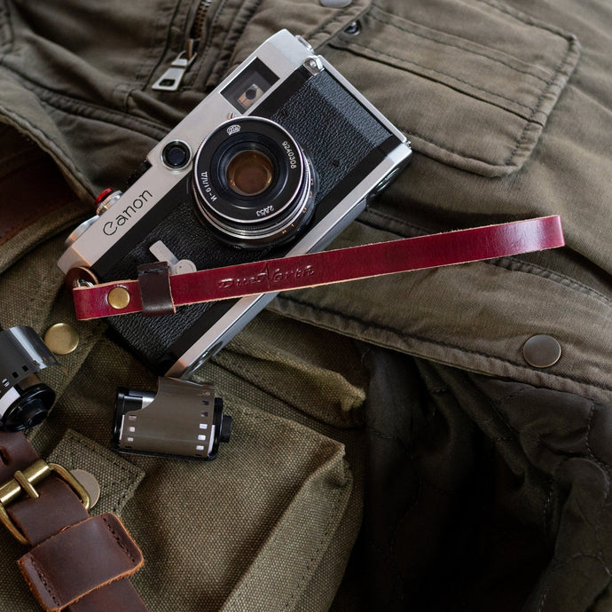 Artisan Series Leather Wrist Strap - Due North Leather Goods