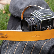 Load image into Gallery viewer, Newport Leather Camera Neck Strap for Hasselblad 500 series - Due North Leather Goods
