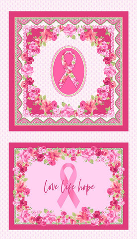 LOVE PINK SCARF & PILLOW PANEL