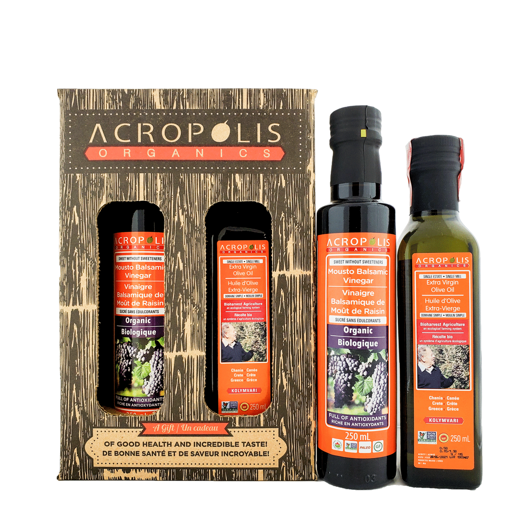 Organic Olive Oil & Balsamic Combo