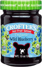 Load image into Gallery viewer, Organic Wild Blueberry Jam