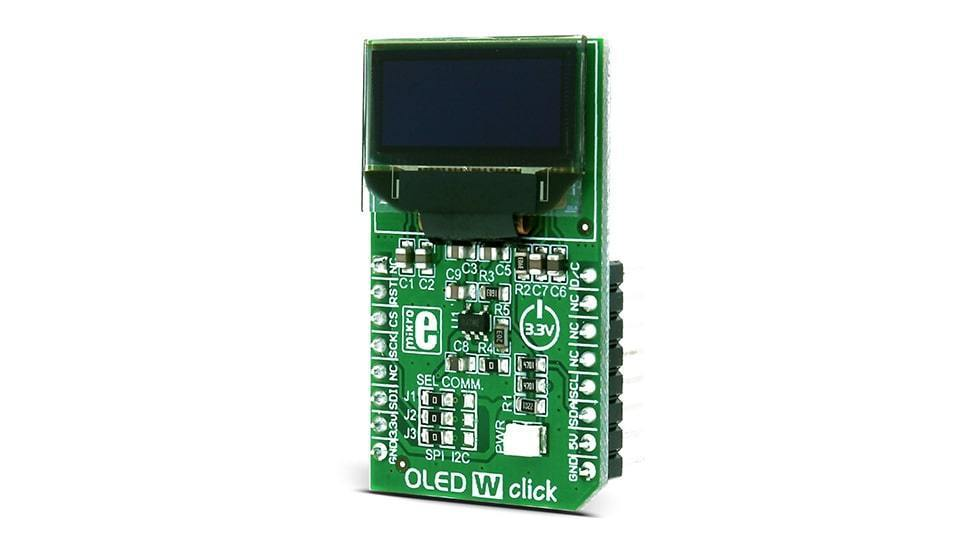 CLICK BOARD OLED W -  - MICROSIDE TECHNOLOGY