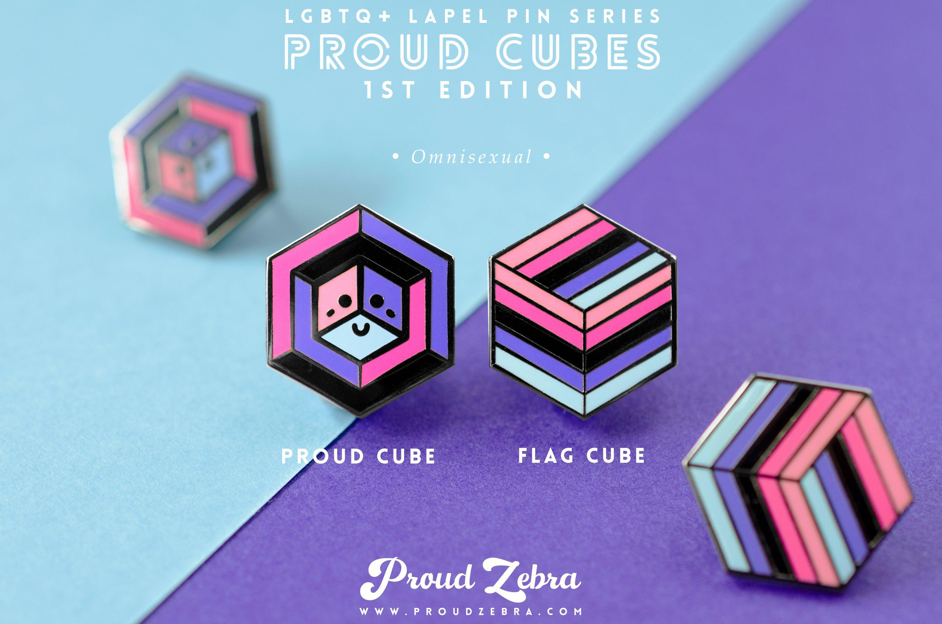 Omnisexual Pride - 1st Edition Pins [Set]