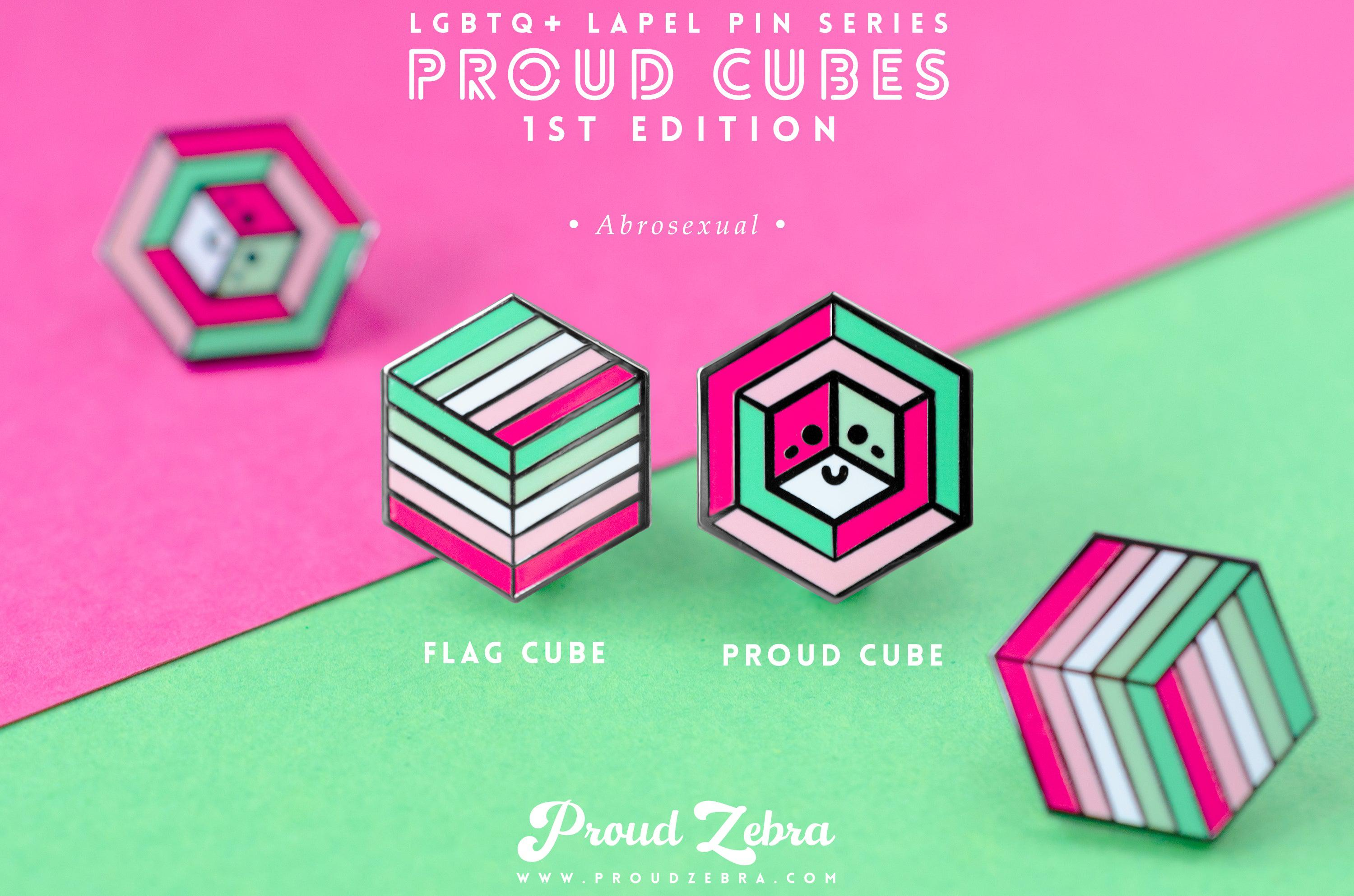 Abrosexual Pride - 1st Edition Pins [Set]
