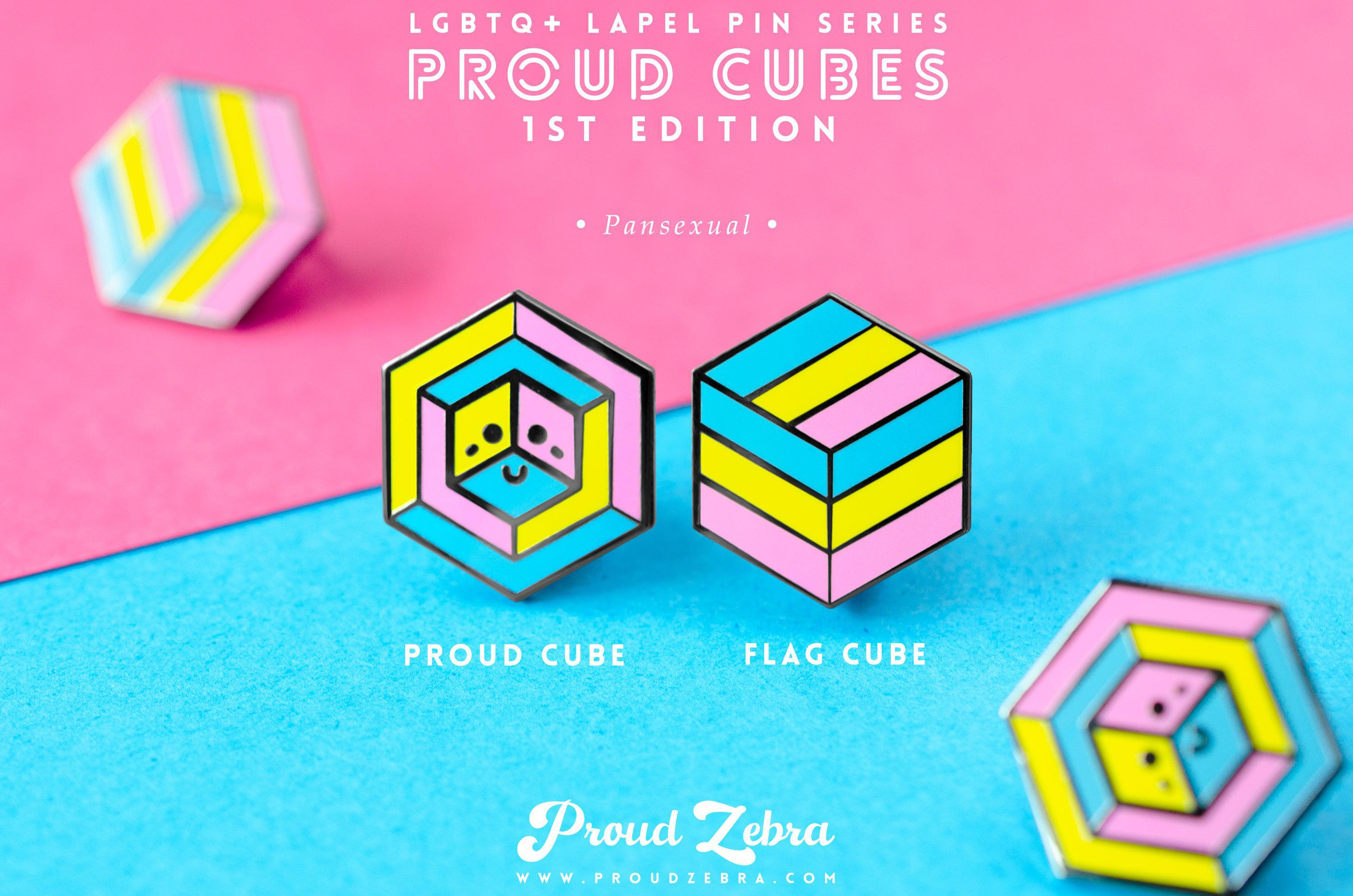 Pansexual Pride - 1st Edition Pins [Set]