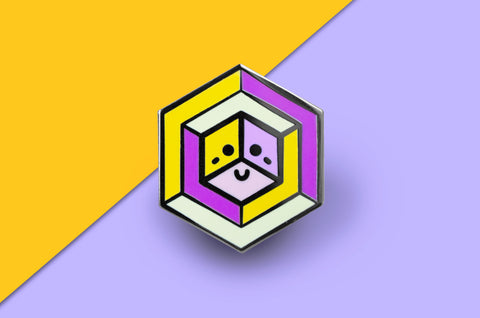 Trixic Pride - Proud Cube Pin