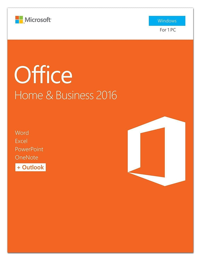 Office Home and Business 2016 | 1 user, PC Key Card