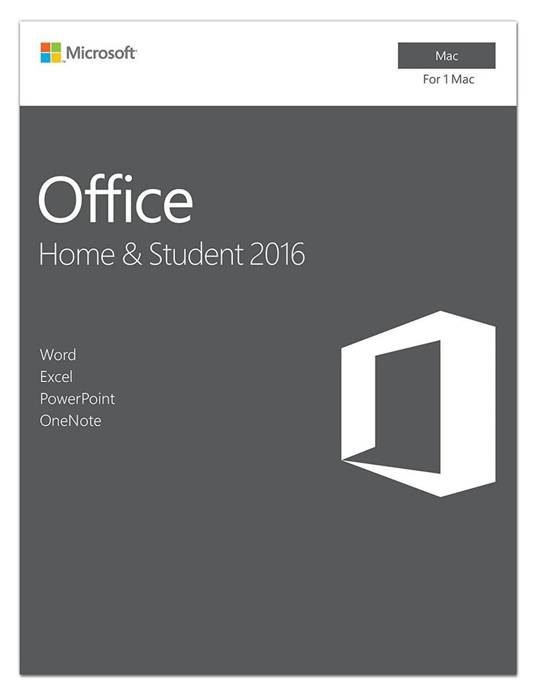 Microsoft Office Home and Student 2016 | Mac | Box