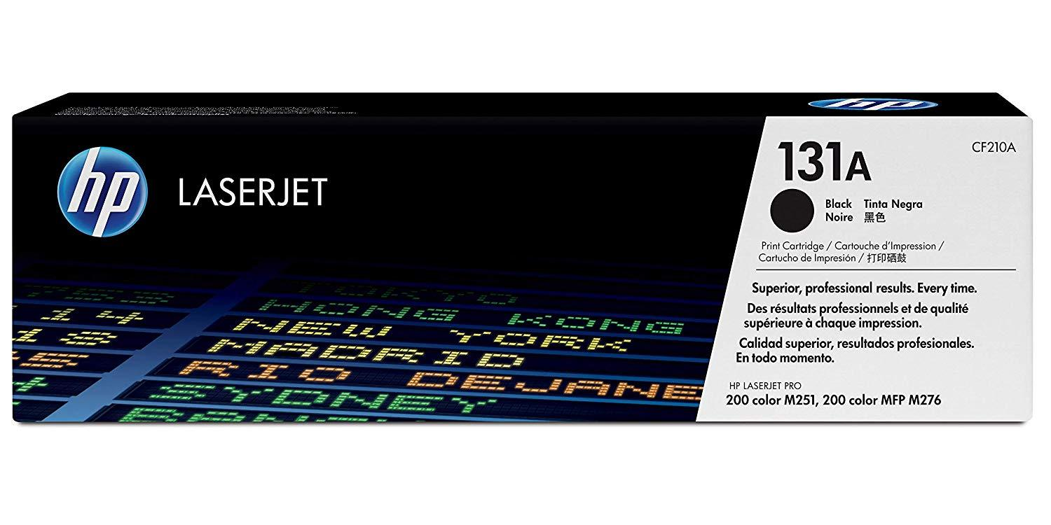HP 131A Original Toner Cartridge Black, Pack of 1