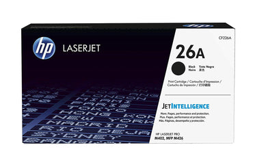 HP 26A Original Toner Cartridge Black, Pack of 1