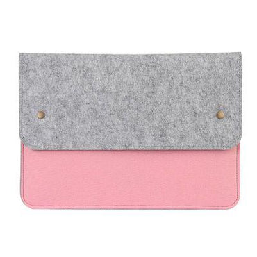 Fashion Wool Felt Laptop Bag