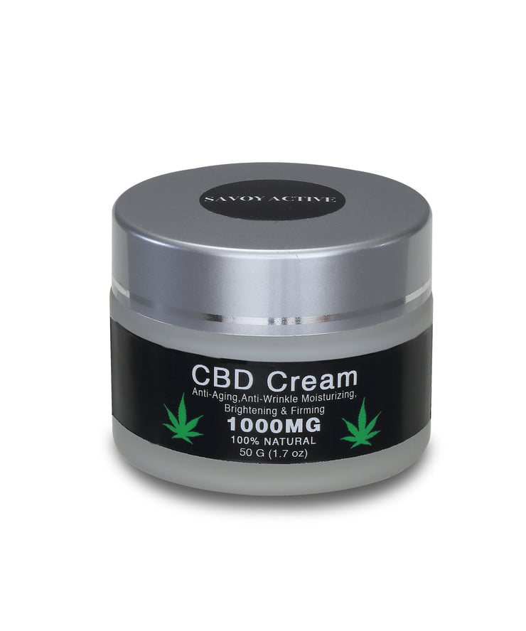 CBD Cream - Premium Grade - 1000MG CBD - 100% Natural - 50g