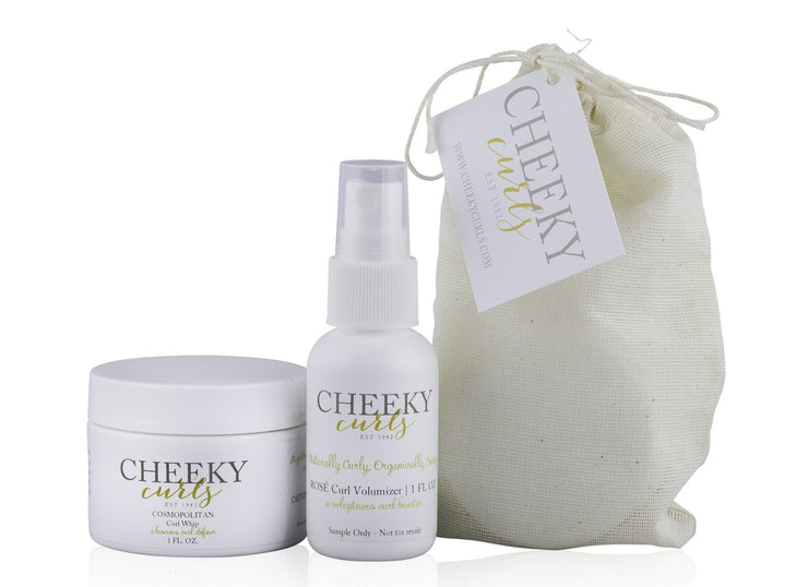 Cheeky Curls Mini Sample Set (Curl Whip + Curl Volumizer) - Orin&Oak