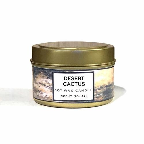 Desert Cactus Scented Soy Wax Candle - Orin&Oak