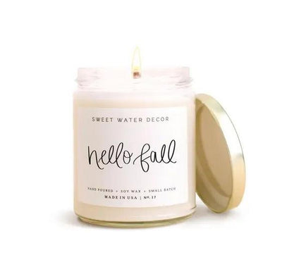 Hello Fall Soy Candle - Orin&Oak