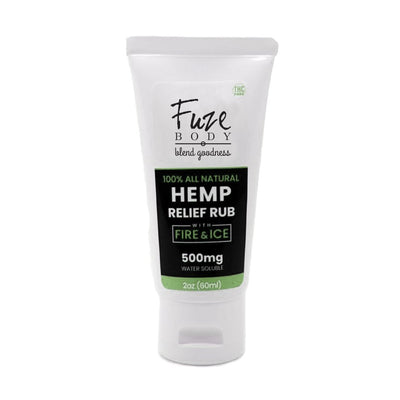 Hemp Pain Cream W/Fire & Ice™ Nano H2O - 2 Oz - Orin&Oak