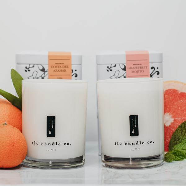 "The Candle Company ""Summer"" Luxury 2-Wick Candle Duo - Orin&Oak"