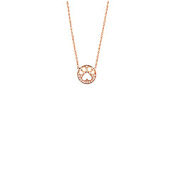 Our Cause for Paws Diamond Mini Paw Pendant Necklace