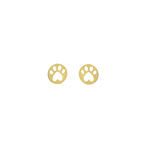 Our Cause for Paws Mini Stud Paw Earrings