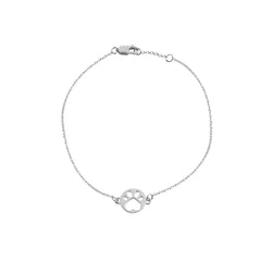 Our Cause for Paws Mini Paw Chain Bracelet
