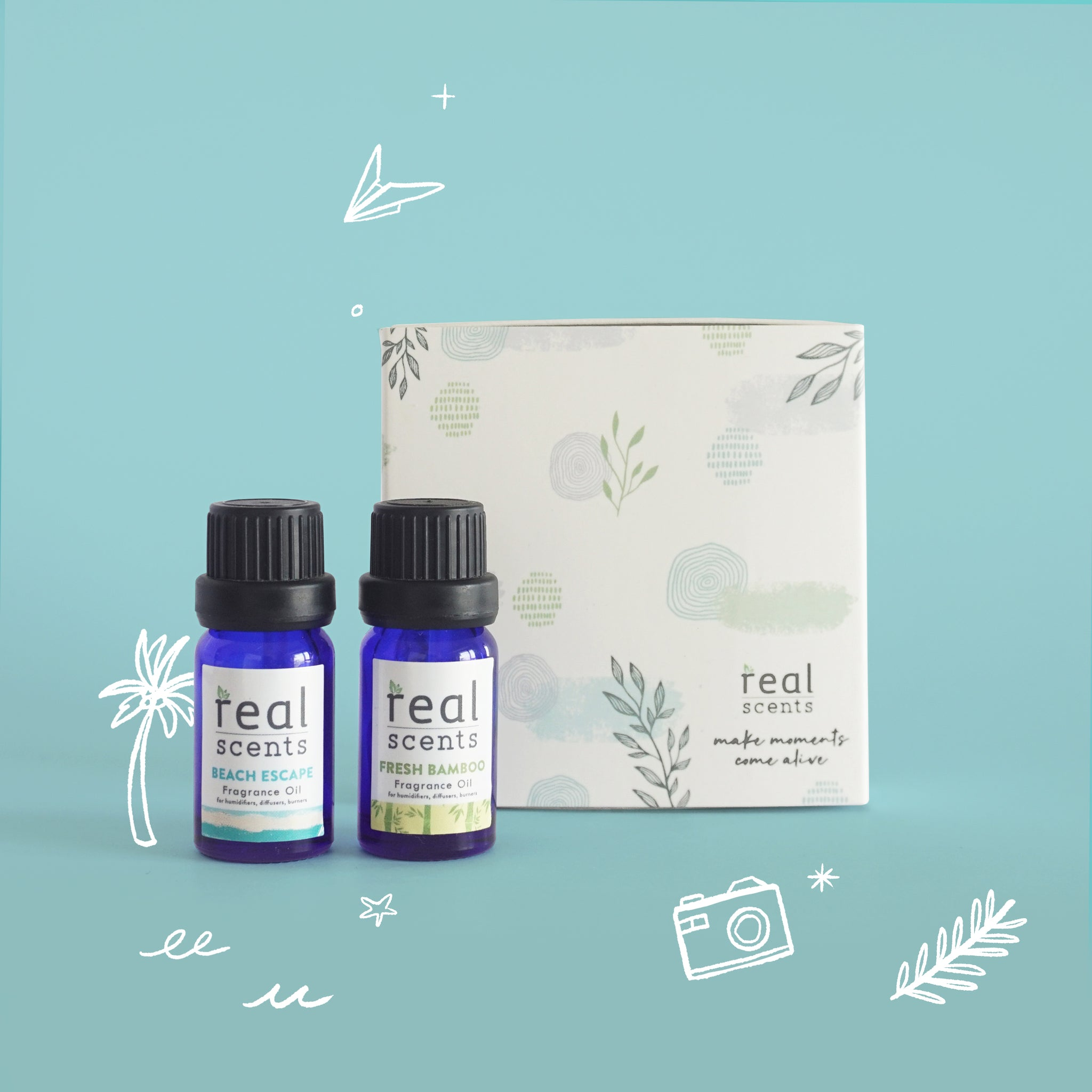 One Way Ticket Gift Set (Fragrance Oils)