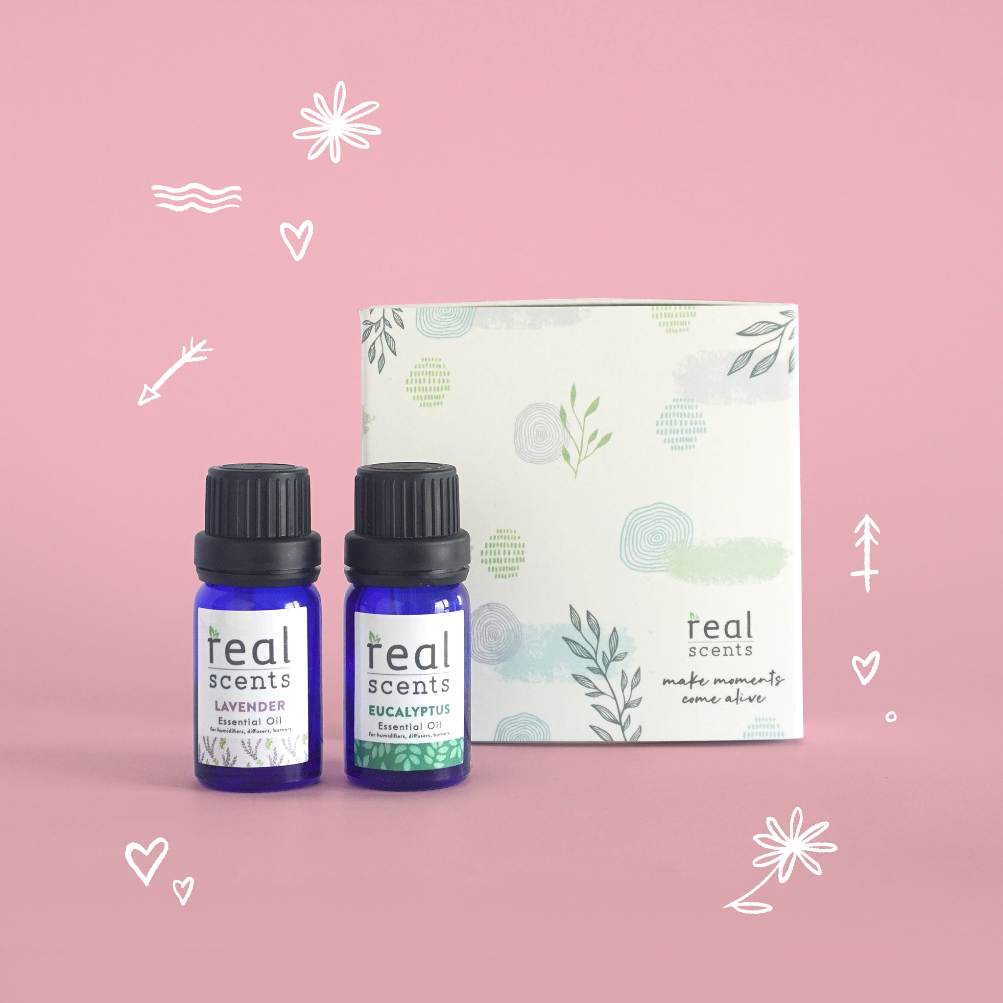 Romantic Date Gift Set (Essential Oils)