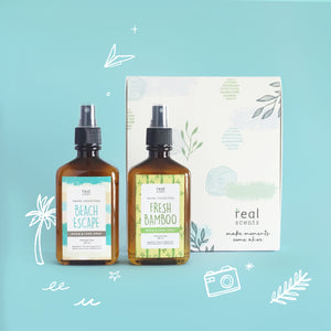 One Way Ticket Gift Set (Room and Linen Spray)