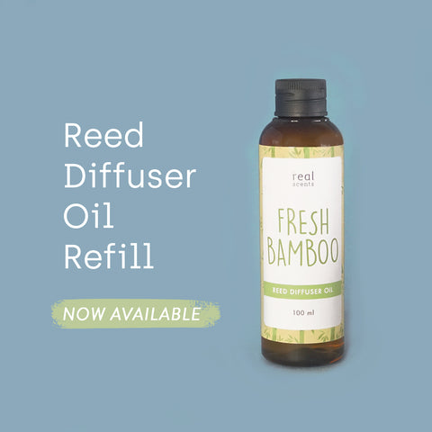Fresh Bamboo Reed Diffuser Refill 100ml