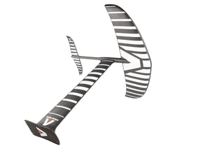 Armstrong HS hydrofoil with the distinctive black carbon and white lines.