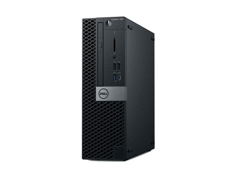 Dell Optiplex 7060 SFF Desktop Intel i7-8700, 3.20GHz 8GB RAM 1TB HDD W10P WiFi