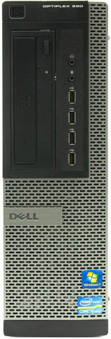 Dell Optiplex 990 SFF Desktop Intel i7-2600, 3.40GHz 4GB RAM 500GB HDD NO OS