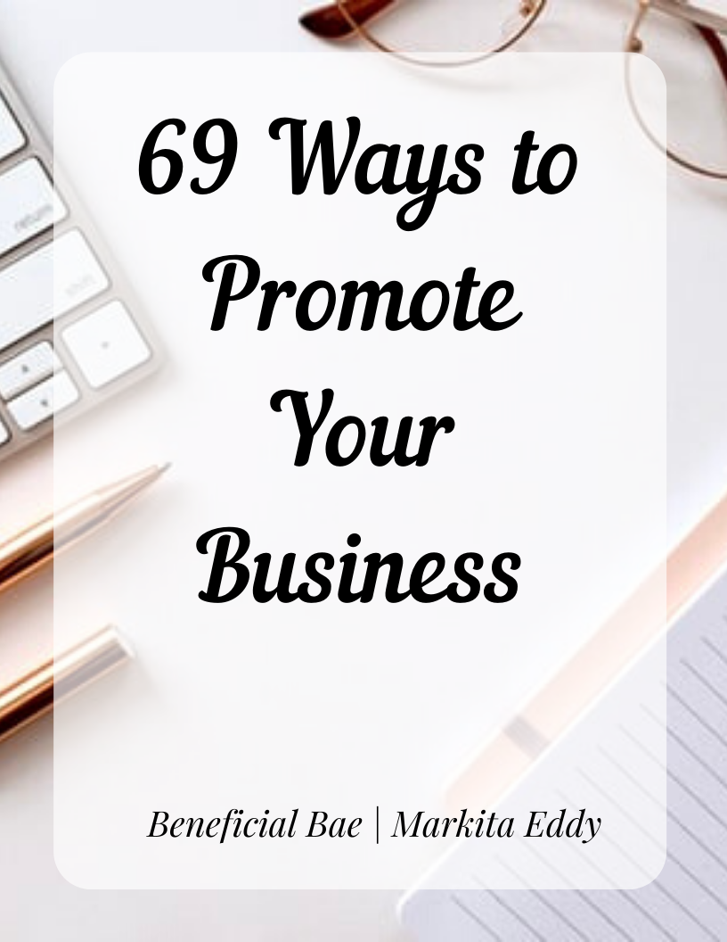 69 Ways to Promote Your Business Ebook