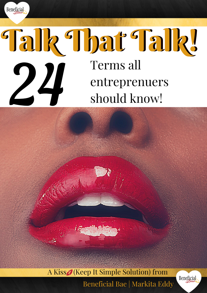 Talk that Talk E-book: 24 Terms All Entrepreneurs Should Know