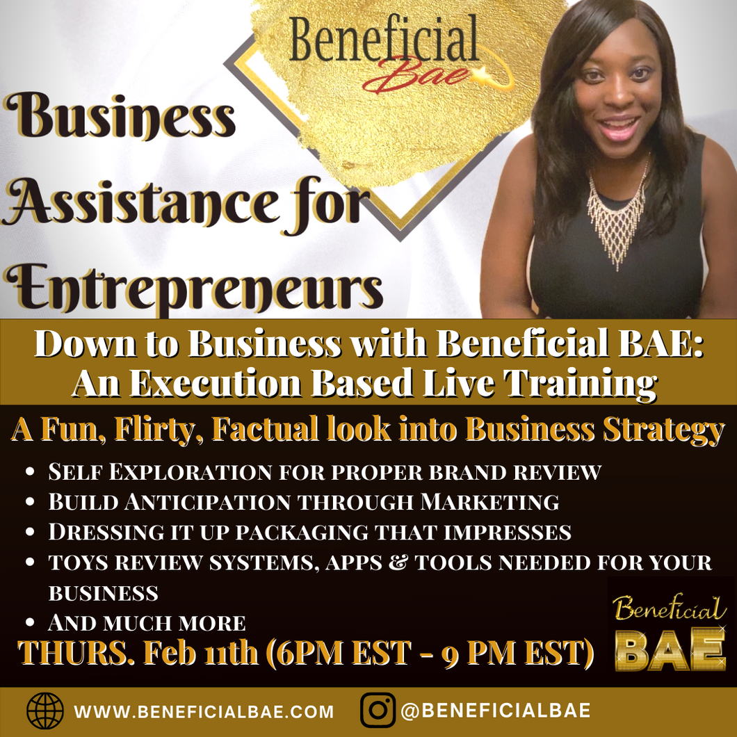 Down to Business with Beneficial Bae Training